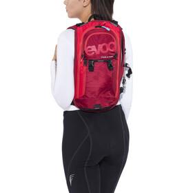 EVOC Stage Team - Mochila bicicleta - 3 L + Hydration Bladder 2 L rojo